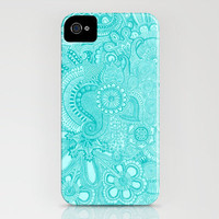 millions aqua iPhone Case by Taylor St. Claire | Society6