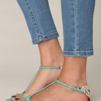 Dacia Snake Sandal at Free People Clothing Boutique