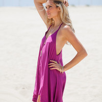 Purple Sundress