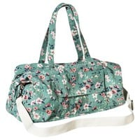 Mossimo Supply Co. Floral Weekender Handbag with Removable Strap - Mint