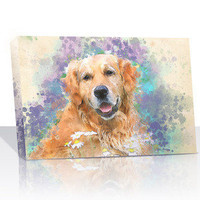 Create a Watercolor Photo to Painting on canvas with your picture.