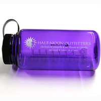 Half-Moon Outfitters Logo Nalgene Wide Mouth Water Bottle - 32 oz., Water Bottle