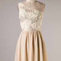 Sparkle Champagne On Ice Dress - Hazel & Olive