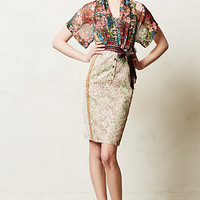 Lana Dress by Byron Lars Red Motif