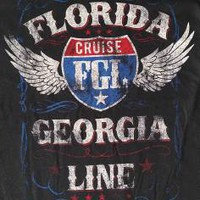 "New! Florida Georgia Line ""Cruise"" Country Rock FGL Licensed Concert T-Shirt"