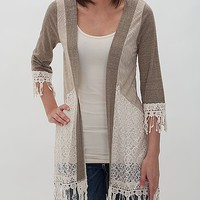 Gimmicks By BKE Flyaway Cardigan