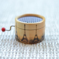 Amelie Music Box Eiffel tower
