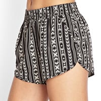 Tribal-Inspired Dolphin Shorts