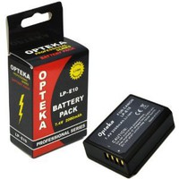 Opteka LP-E10 2000mAh Ultra High Capacity Li-ion Battery Pack for Canon EOS Rebel T3 (1100D)