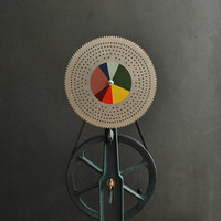 1950's Color Wheel Test Machine