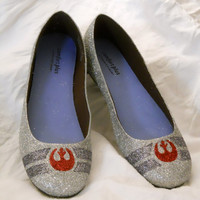 SAMPLE SALE SIZE 85 Rebel Alliance Star Wars Glitter by aishavoya
