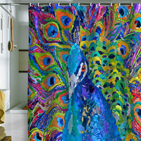 DENY Designs Home Accessories | Elizabeth St Hilaire Nelson Cocophony Of Color Shower Curtain