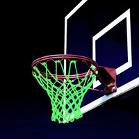 Amazing Snapping Basketball Net Glows In The Dark