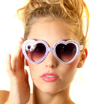 Lolita Style Swarovski crystal sunglasses by ashleigh1954 on Etsy