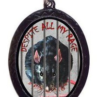 Jailed Rat on Angry Cute Goth Horror Pendant Necklace | eBay