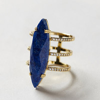 Ultramarine Triple Ring