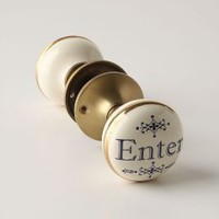 Hello, Goodbye Knob - Anthropologie.com