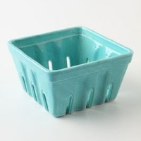 Farmers Market Basket, Large Square - Anthropologie.com