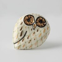 Calico Owl Knob - Anthropologie.com