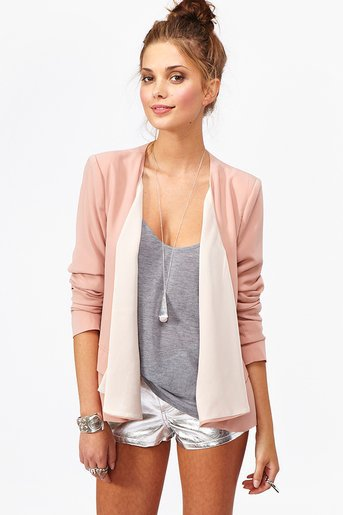 Draped Chiffon Jacket in  What&#x27;s New at Nasty Gal