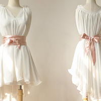 Chiffon dress 041 by yuerli on Etsy