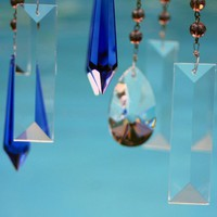 Crystal Windchimes Tranquil Seas Indoor / by natureinspiredcrafts