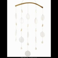 Bamboo Capiz & Seashell Windchime~ New!