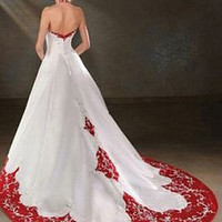Buy Fabulous Satin Halter  Wedding Dress