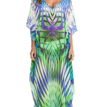 Lotta Stensson Maxi Caftan in Blue