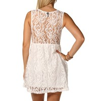 Sale-ivory Lace Dress