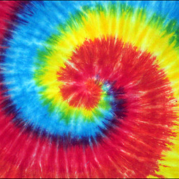 Spiral Tie-Dye 2 Small Tapestry