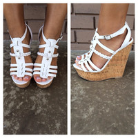 White Spine Cork Wedges