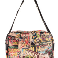 Retro Marvel Comics Messenger Bag