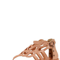 Matisse Reclaim Natural Wedge Thong Sandals