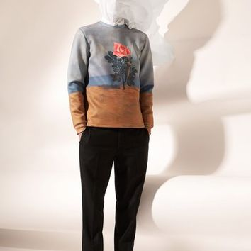 OPENING CEREMONY & MAGRITTE THE BLOW TO THE HEART SWEATSHIRT - MEN - OPENING CEREMONY & MAGRITTE