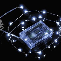 White Wire Waterproof Lights