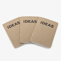 Ideas Book - 3 pack