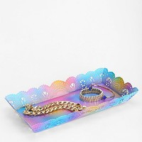 Plum & Bow Rainbow Lace Tray - Urban Outfitters