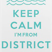 Keep Calm: District 4 iPhone  Case