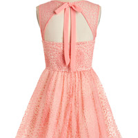 Vintage Inspired Mid-length Sleeveless Fit & Flare Cake a Chance Dress