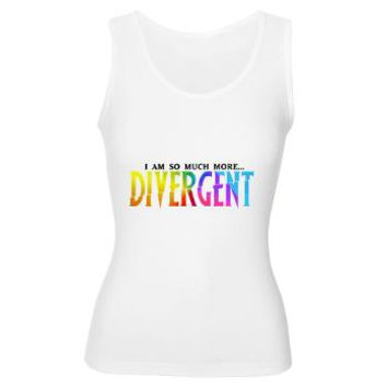 Divergent Colorful Women's Tank Top> Divergent Colorful> Girl Tease