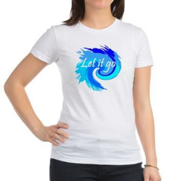 Let It Go Blue Swirl T-Shirt> Let It Go> Girl Tease