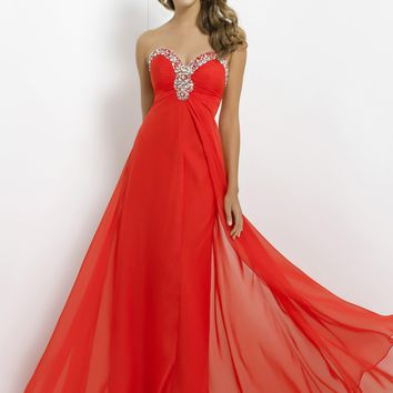 Blush Prom 9388 Beaded Chiffon Dress