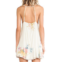 bohemian BONES Cheeky Dress in Ivory