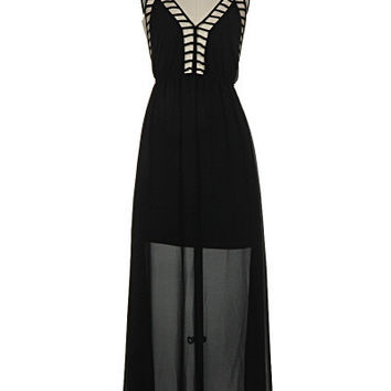 Cut it Out Maxi- Black