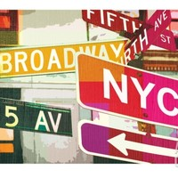 Broadway and Fifth Ave Giclee Print by Evangeline Taylor at Art.com