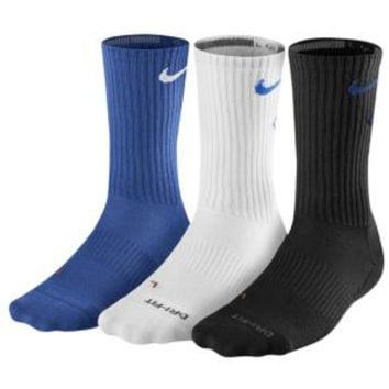 Nike 3 Pack Dri-Fit Fly Crew 1 Socks - Men's