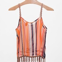 Gimmicks By BKE Chiffon Tank Top