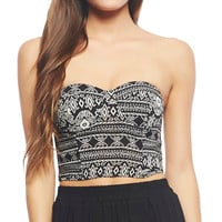 Aztec Crop Tube Top | Wet Seal