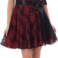 Lace Semi Formal Dress
